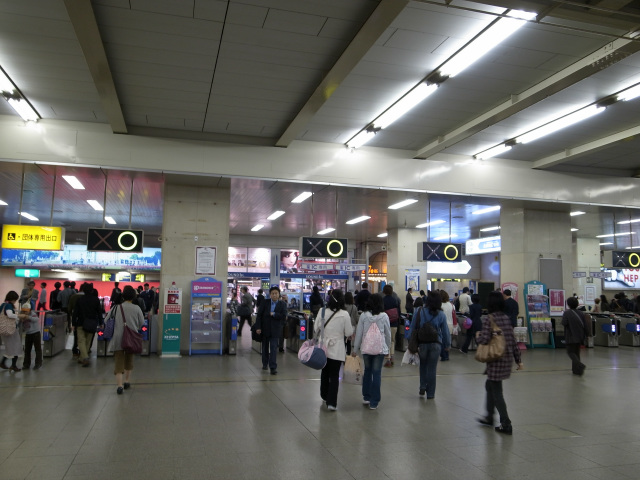梅田駅 改札