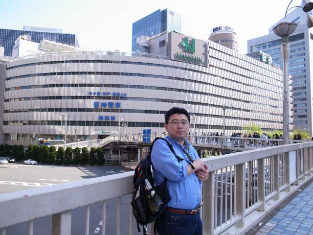 阪神デパートと田村氏
