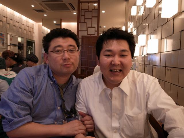 田村氏と米田氏
