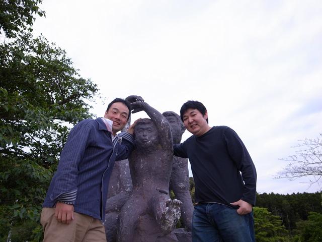 長坂氏と米田氏