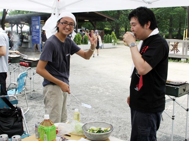 僕と米田氏