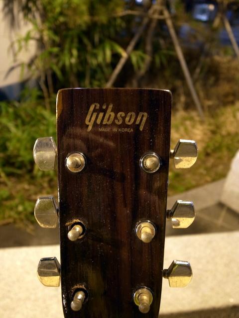 Gibsonのパチモノ