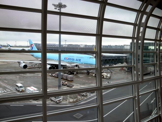 大韓航空 往路搭乗機