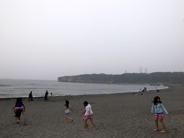 高雄の砂浜