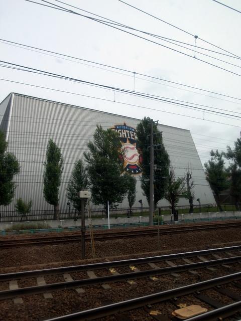 日本ハムファイターズ室内練習場