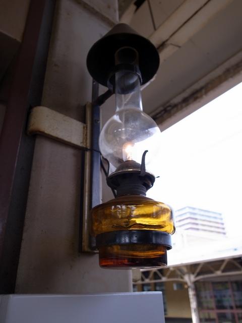 小樽駅のランプ