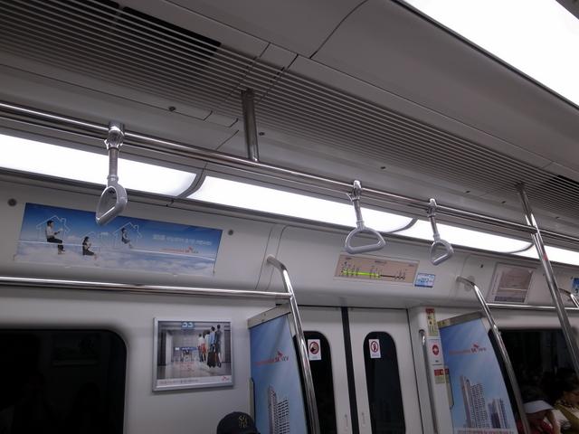空港鉄道A'REX 車内