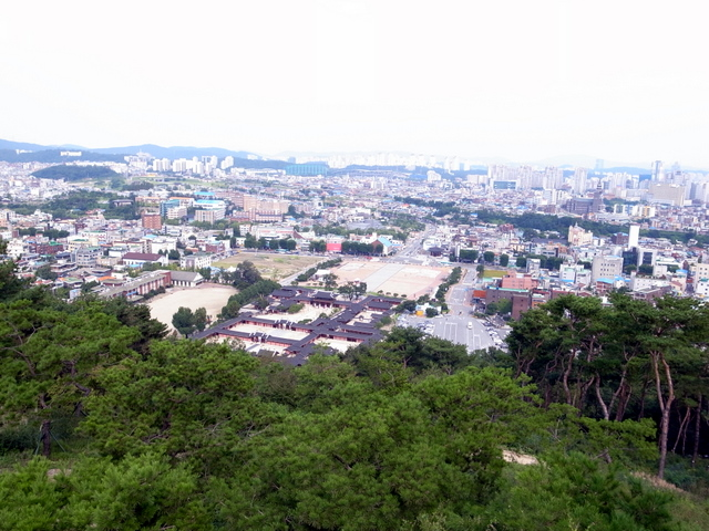 水原(수원)の街並み