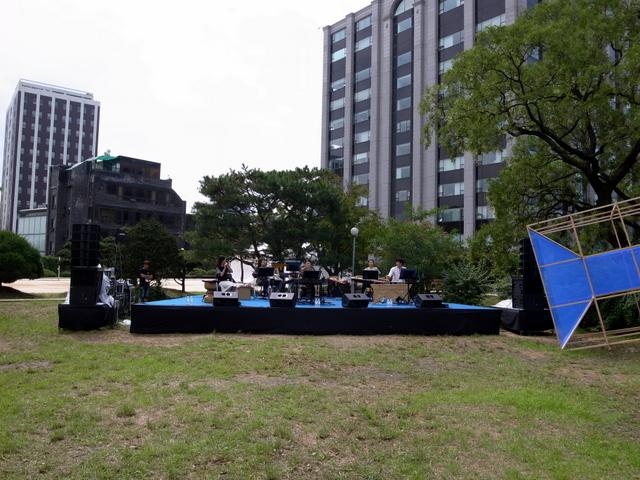 音楽フェスティバル リハーサル