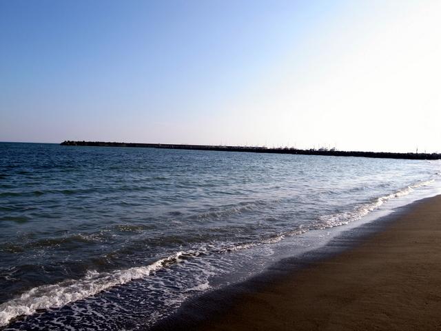 茅ヶ崎海水浴場 砂浜