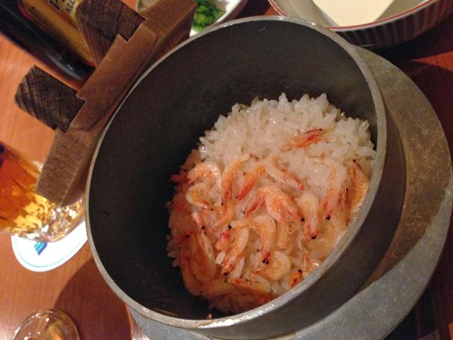 桜海老の釜飯