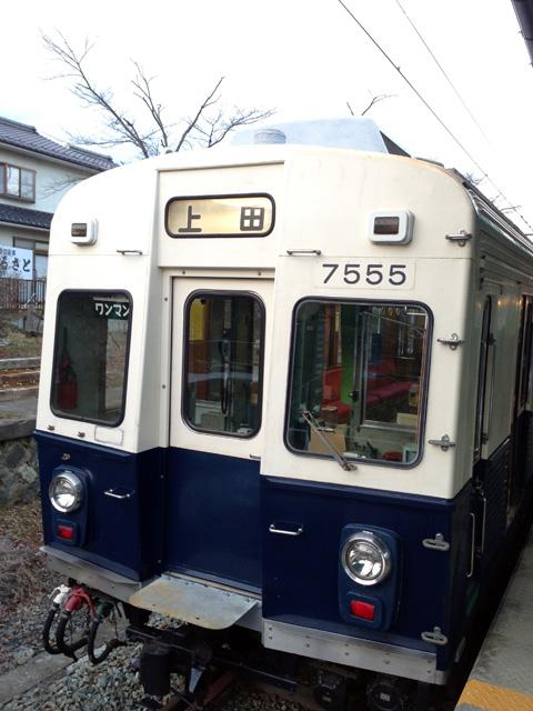 上田電鉄別所線車両