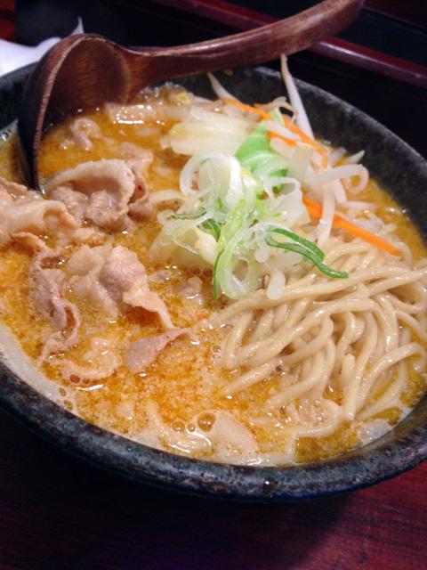 麺処 田ぶし 肉盛味噌ラーメン