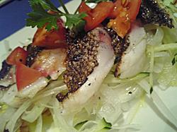 本日の炙り魚(いさき)