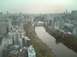 ボアソナードタワーからの景色