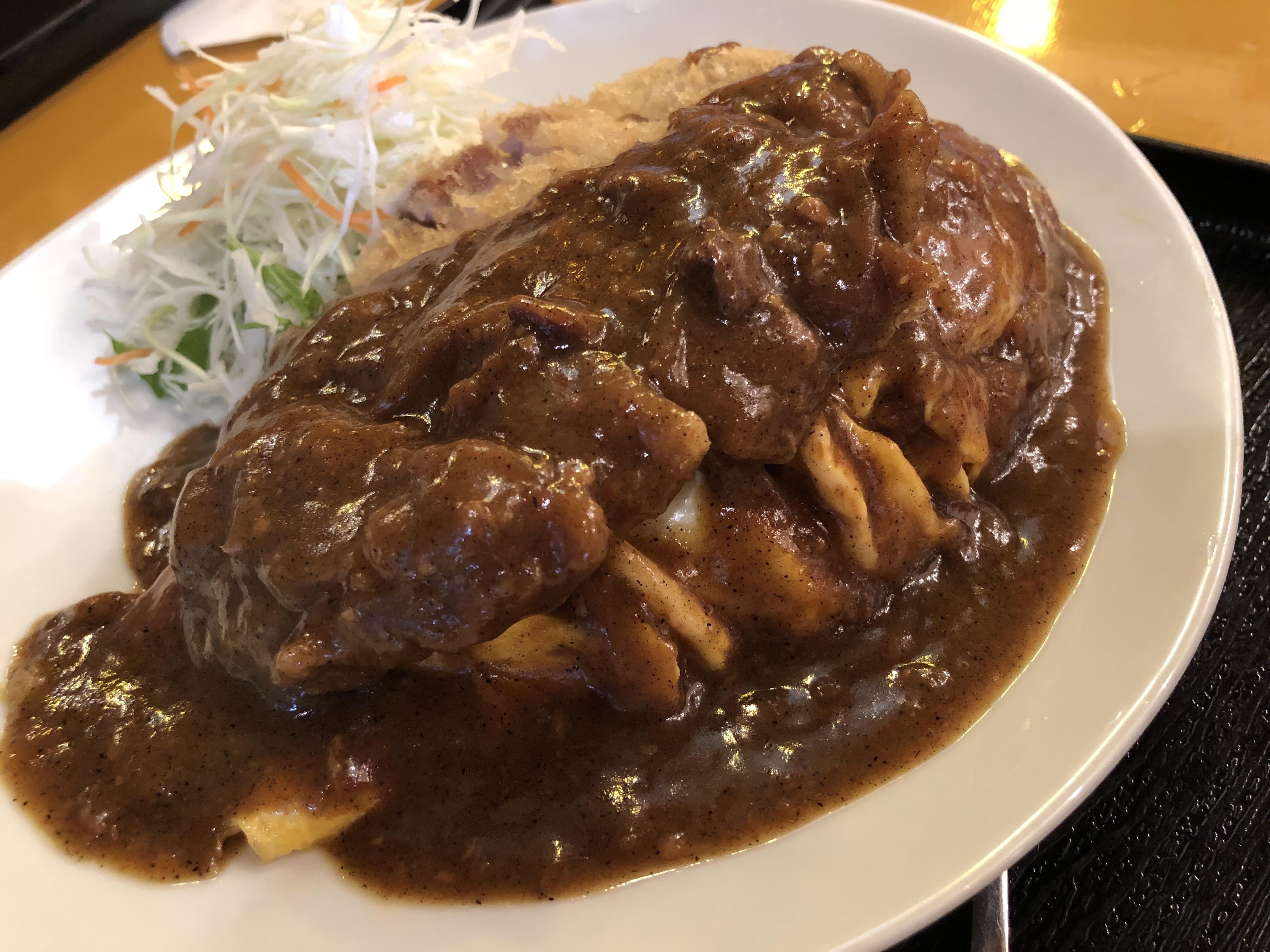 ボルガライス(カレーかけ)